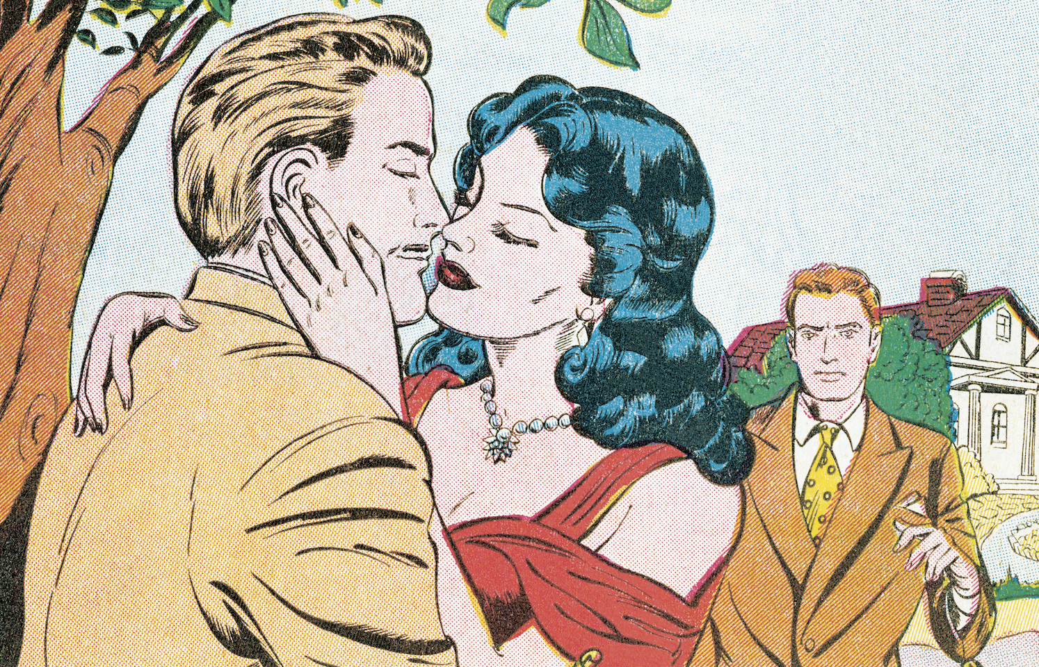caught cheating. Illustration, Getty.