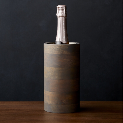Brooks Grey Wood Wine Cooler, Crate and Barrel, $45 ($70)