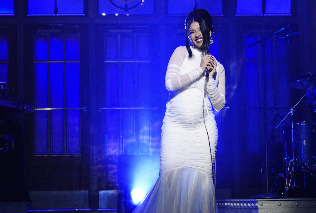 Cardi B is pregnant with her first child