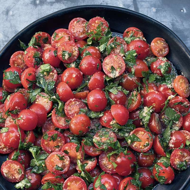 Nigella Lawson's tomato and horseradish salad