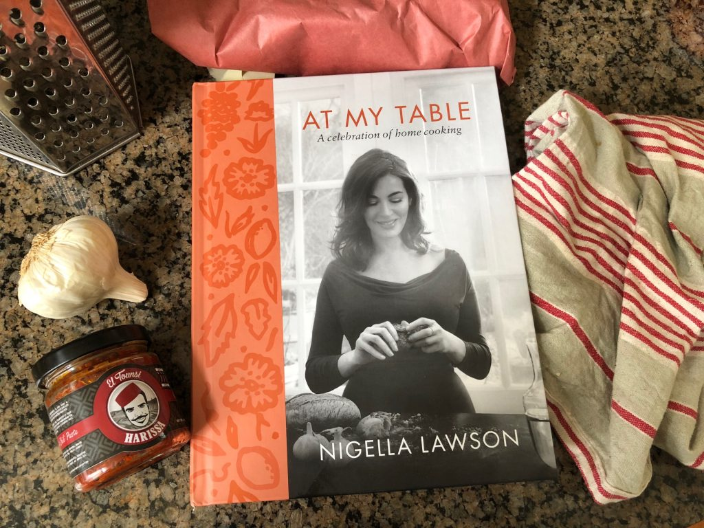 Nigella Lawson's cookbook At My Table is filled with comforting recipes