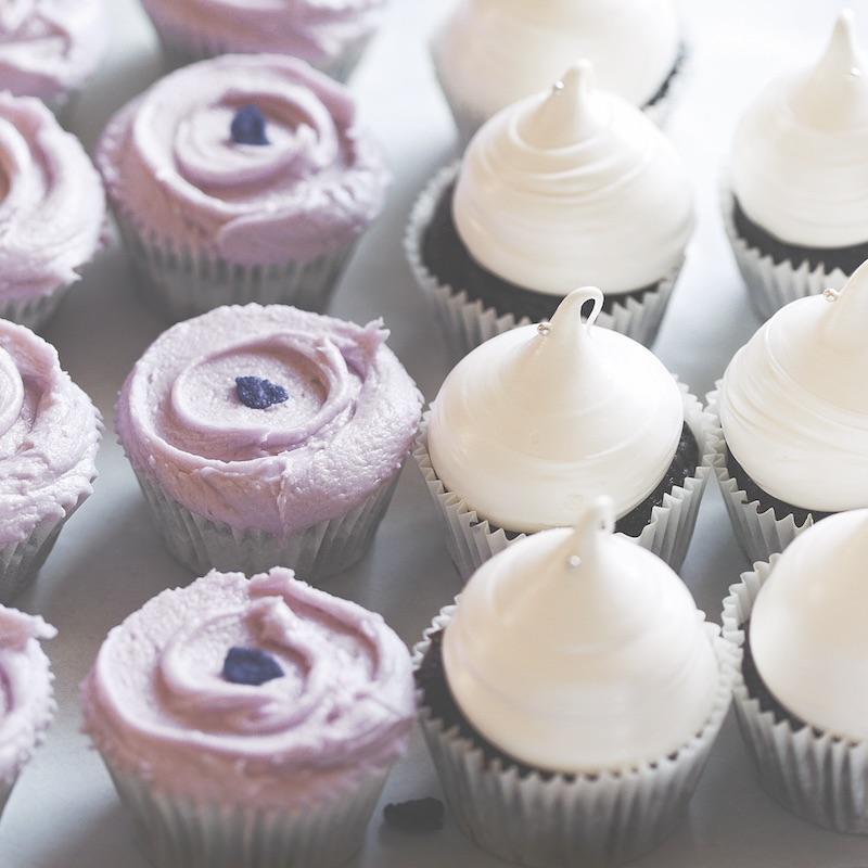 Violet Bakery's violet icing