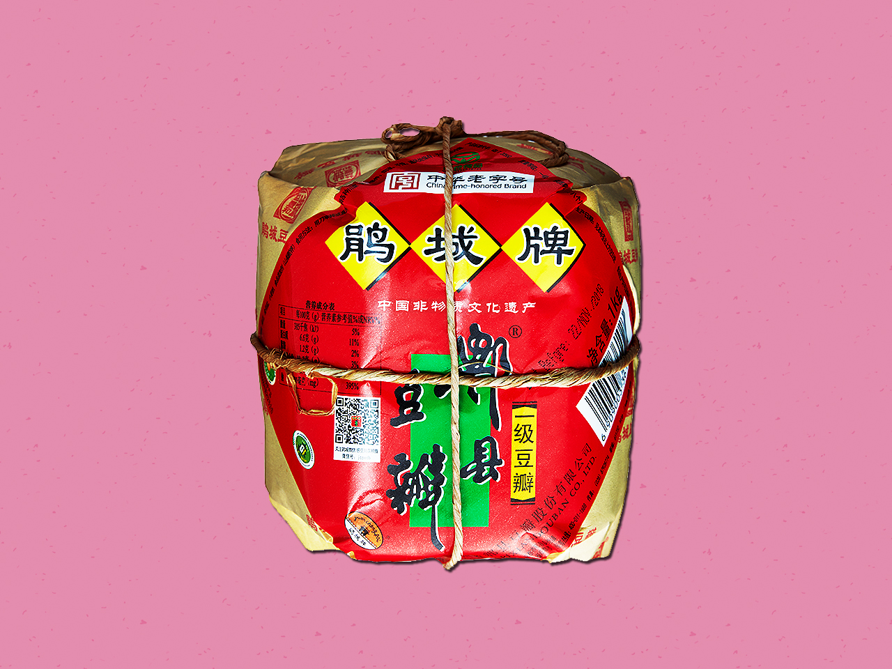 Package of doubanjiang bean paste