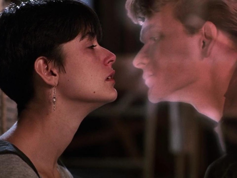 Netflix Tearjerkers: Demi Moore and Patrick Swayze star in Ghost.