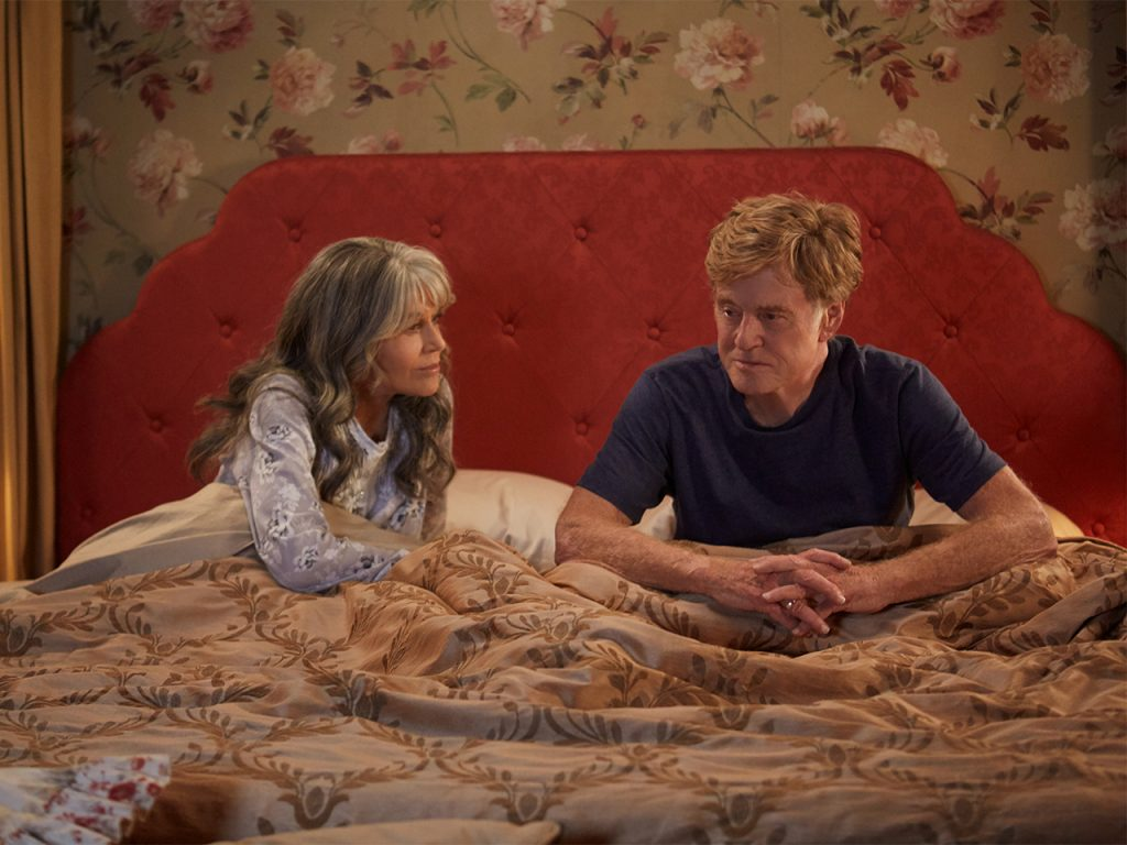 Netflix tearjerkers: Jane Fonda and Robert Redford star in Our Souls At Night.