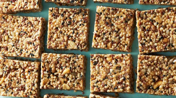 peanut butter seed bars
