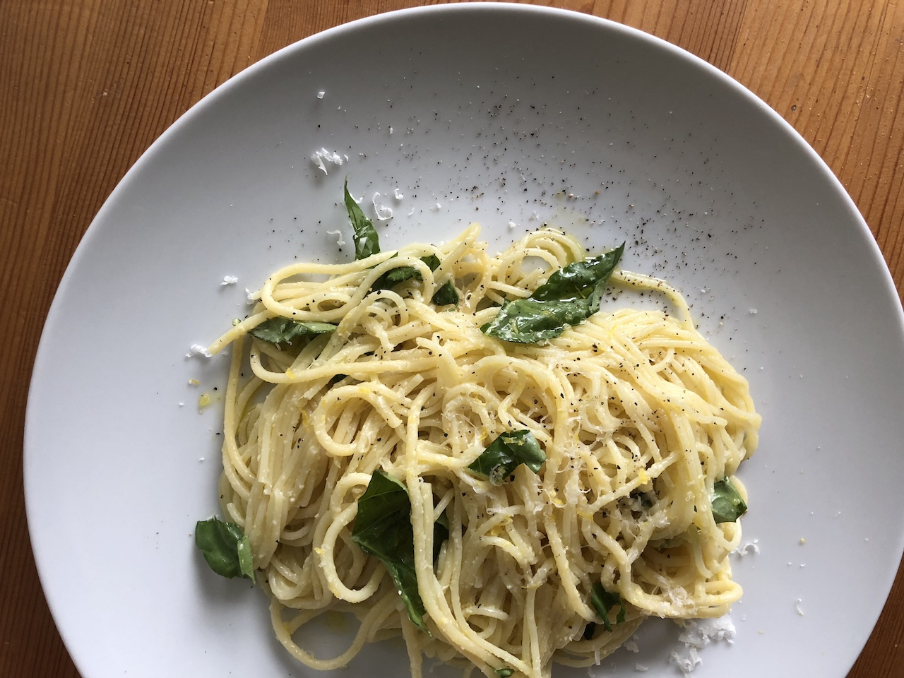 Lemon Pasta - The River Cafe Cookbook