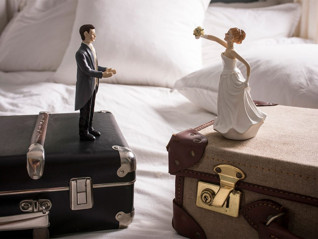 Wedding figurines. Canada will soon update its Divorce Act.