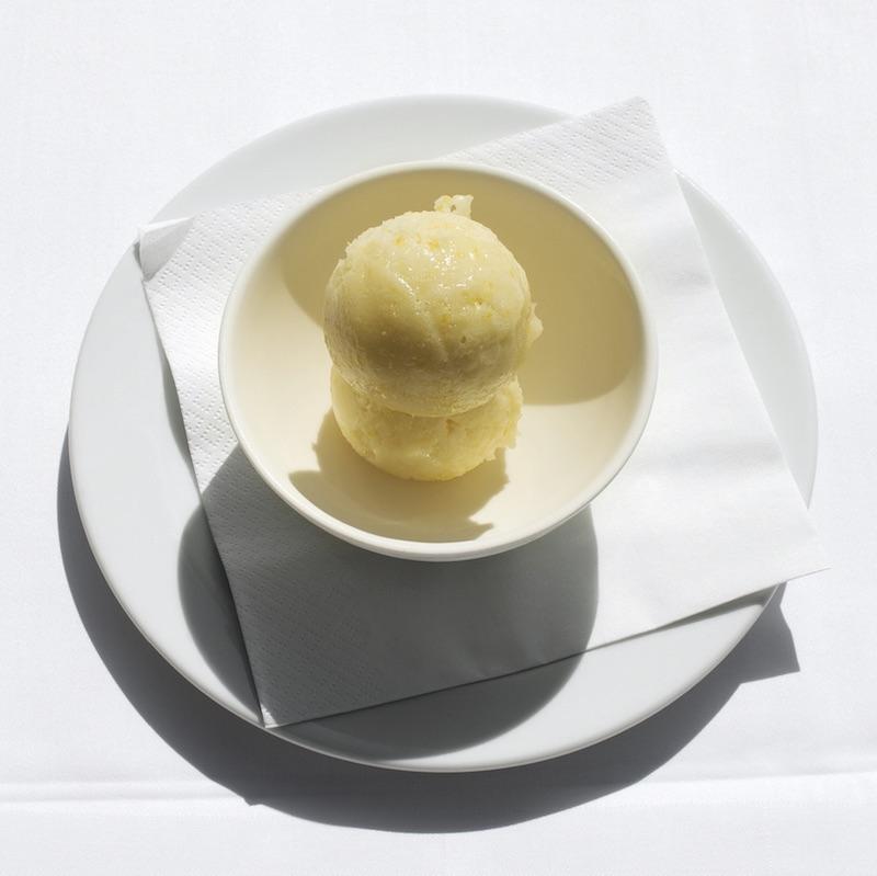 The River Cafe's lemon sorbet