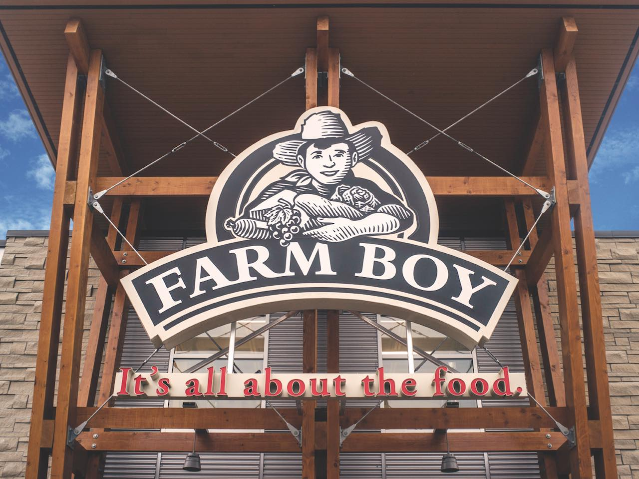 Farm Boy store entrance.