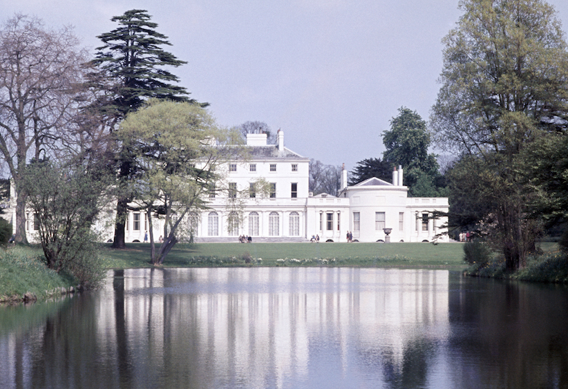 Frogmore House, where Prince Charles hosted an evening reception for the royal wedding of Prince Harry and Meghan Markle