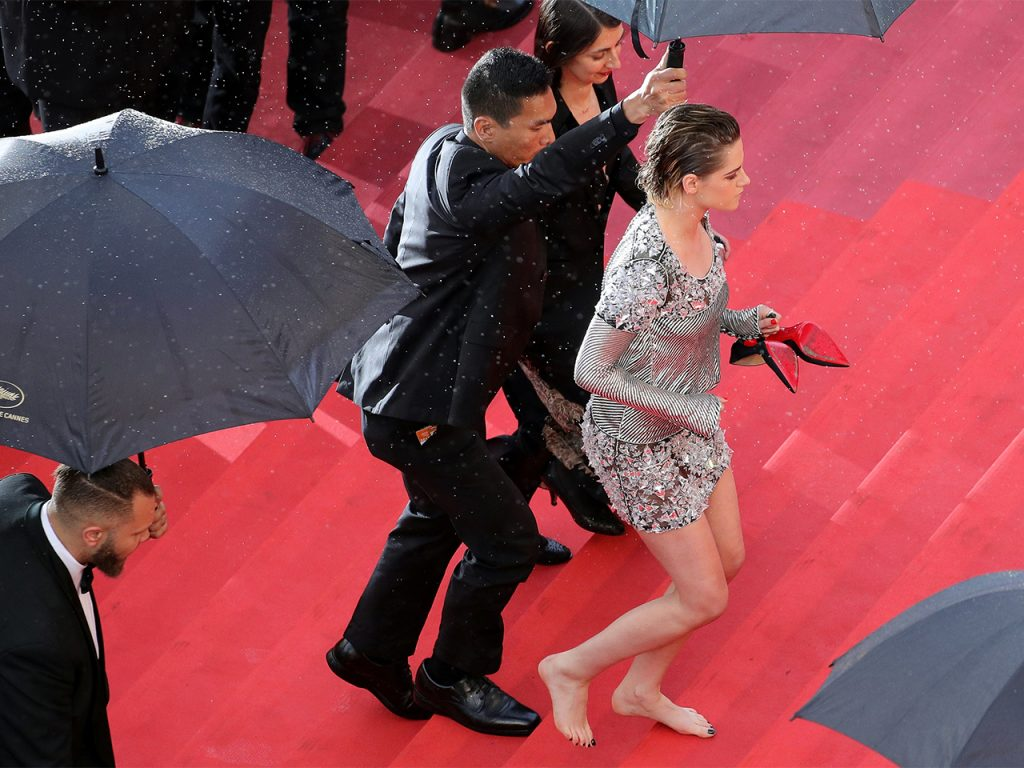 Kristen Stewart, pictured here on the Cannes red carpet