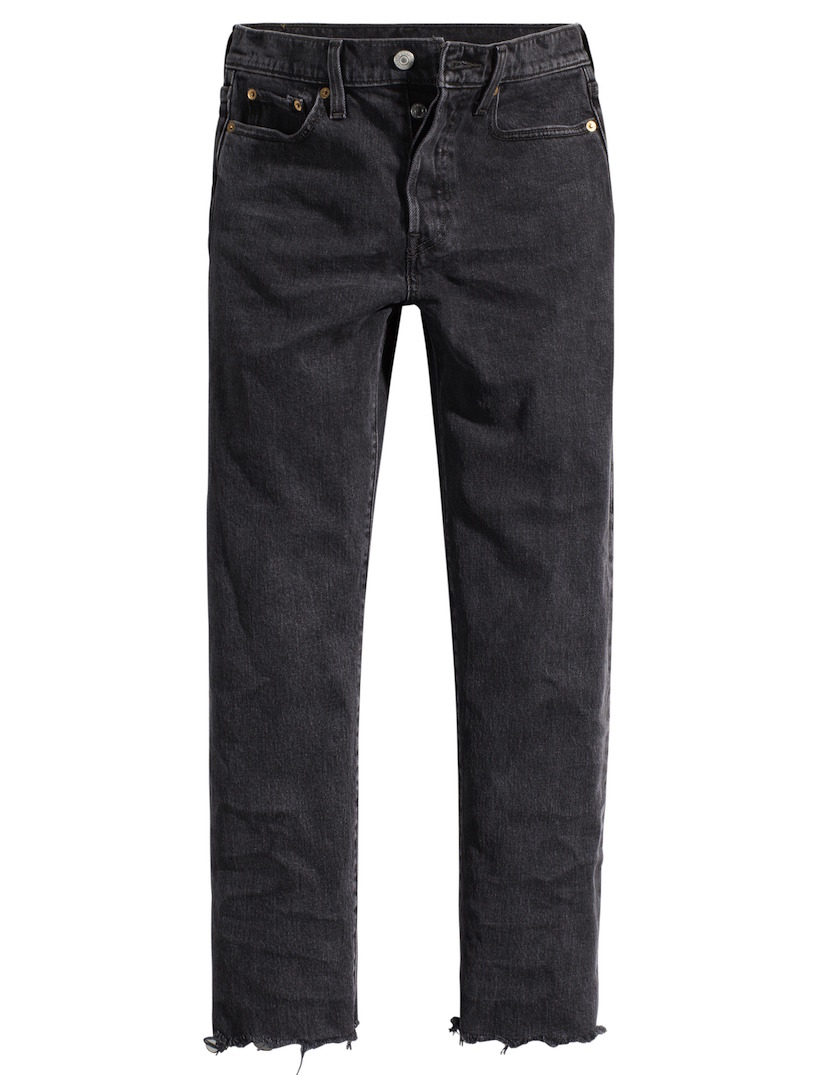 Levi's Wedgie jeans straight fit in grey