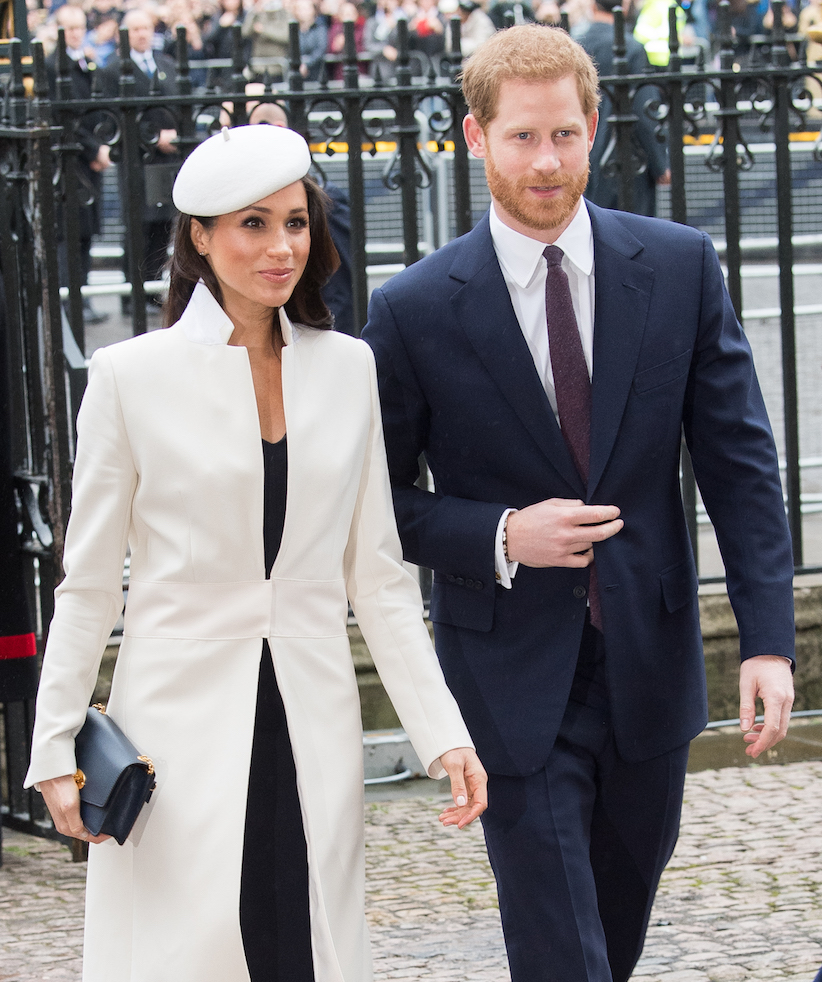 Meghan Markle and Prince Harry in formal attire - photo wedding game