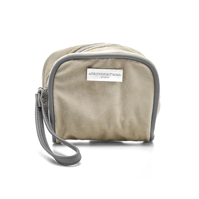 beige travel emergency kit from cleo