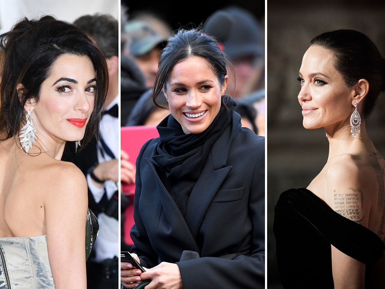 Is Meghan Markle At The Centre Of A Feud Between Amal Clooney And Angelina Jolie?