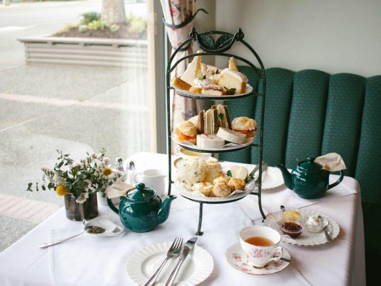 White Heather Tea Room, Victoria