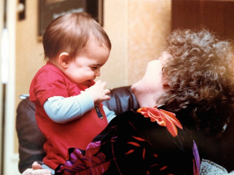 how to talk to a grieving person-baby Kohn and mom