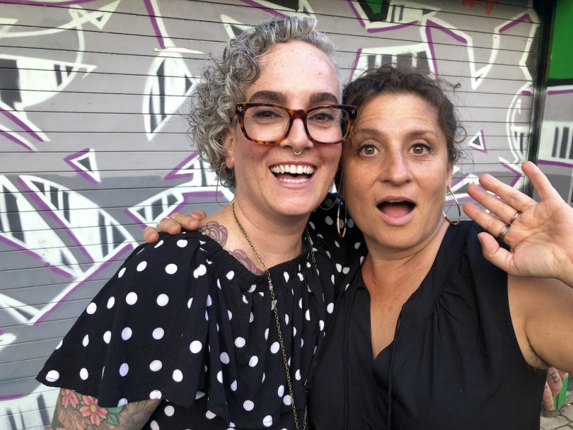 Importance of Friendship-the author with her friend Sarah