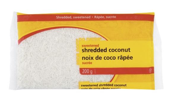 No Name Shredded Coconut
