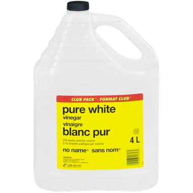 Jug of No Name Brand White Vinegar