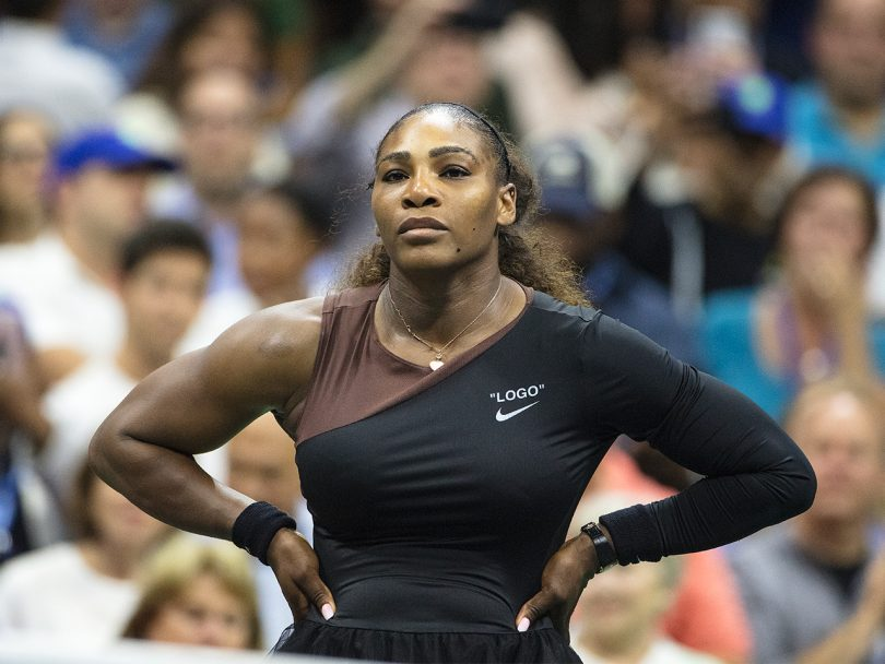 Serena Williams US Open sexism