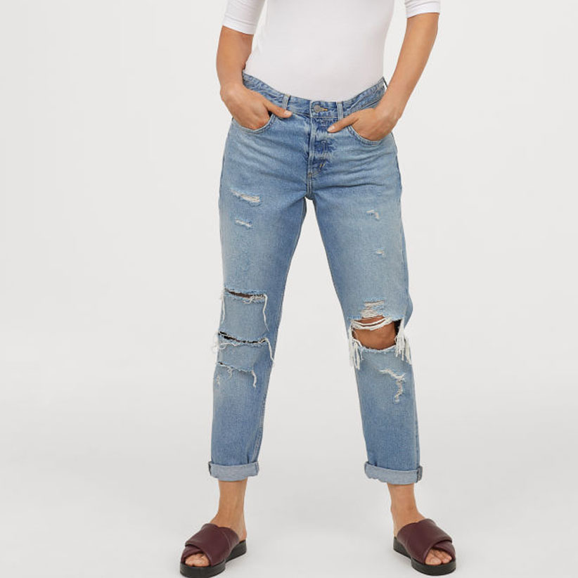 1c57a34e5536 Half off an awesome pair of boyfriend jeans  Yes