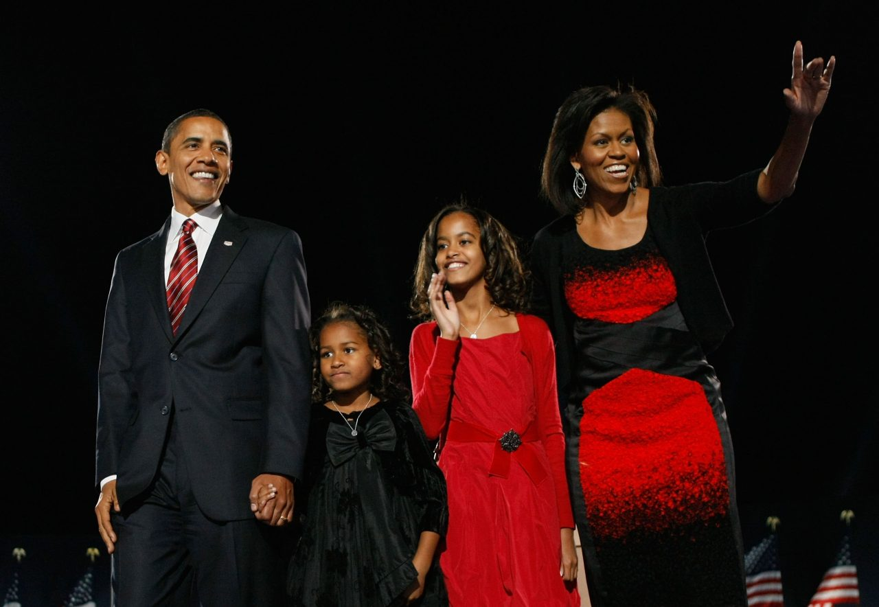 Becoming Michelle Obama-Nov 2008 victory speech