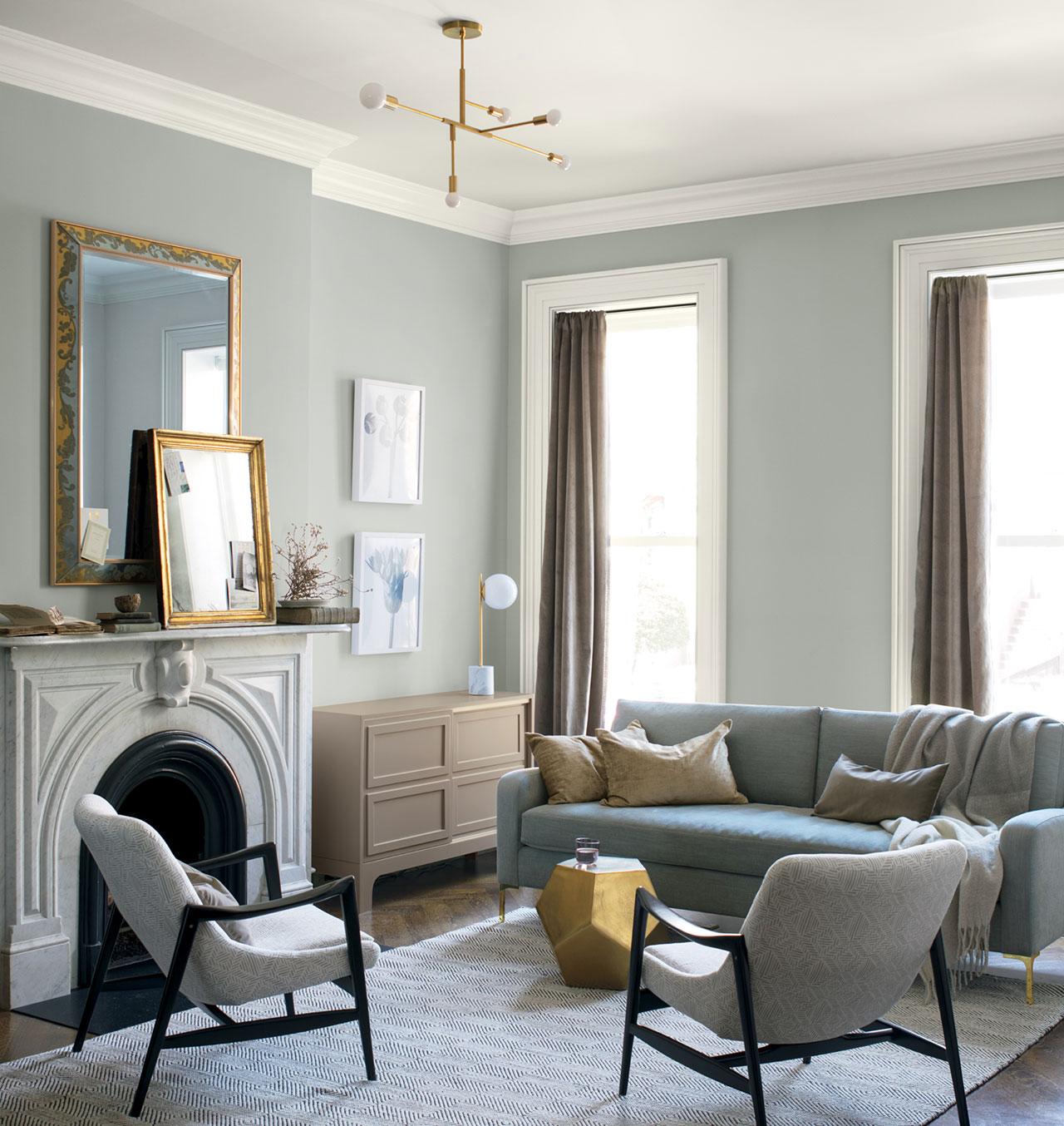 Benjamin Moore S Colour Of The Year 2019 Claine