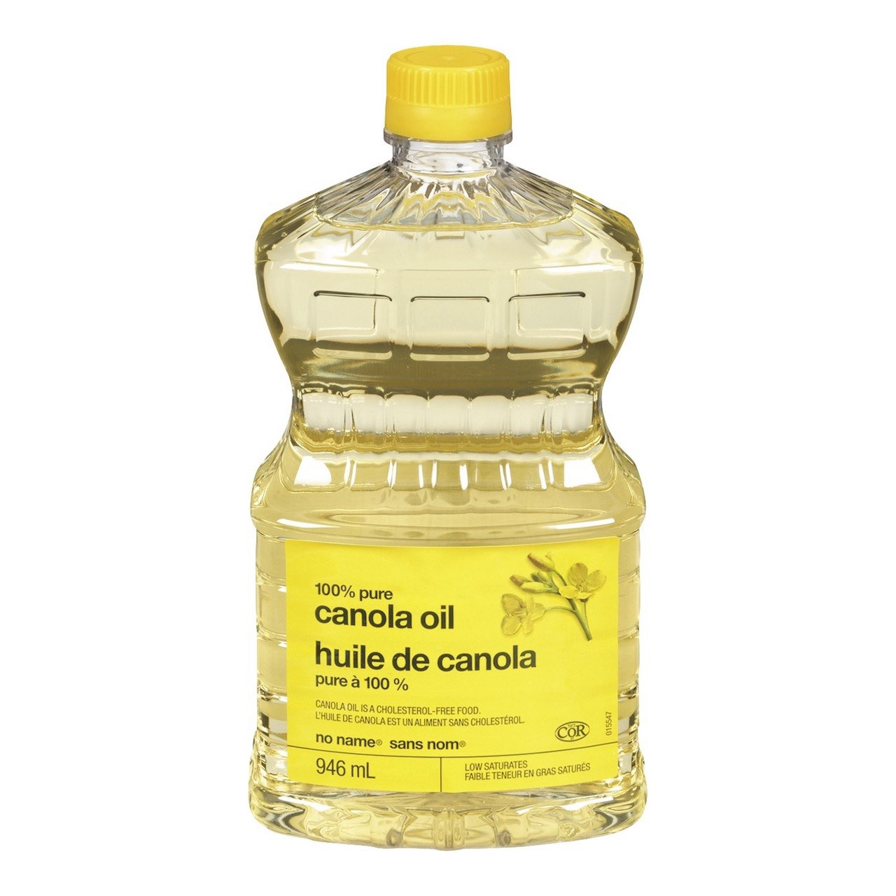 Bottle of No Name Canola Oil