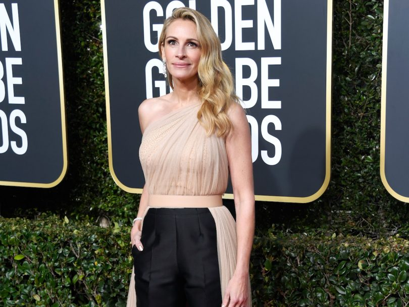 Julia Roberts on the Golden Globes Red Carpet 2019