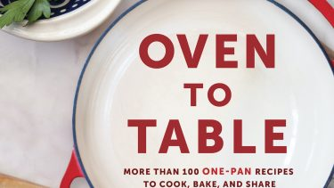 Oven To Table Cookbook Cover - Jan Scott