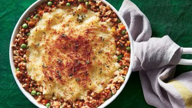 Vegetarian haggis cottage pie