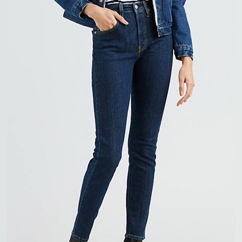 Stretch skinny jeans dark wash from Levi's