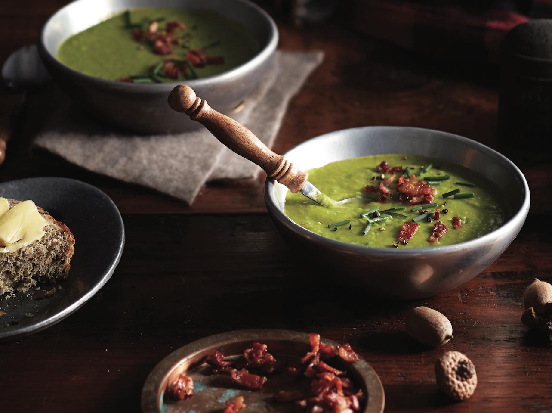 Modern pea soup