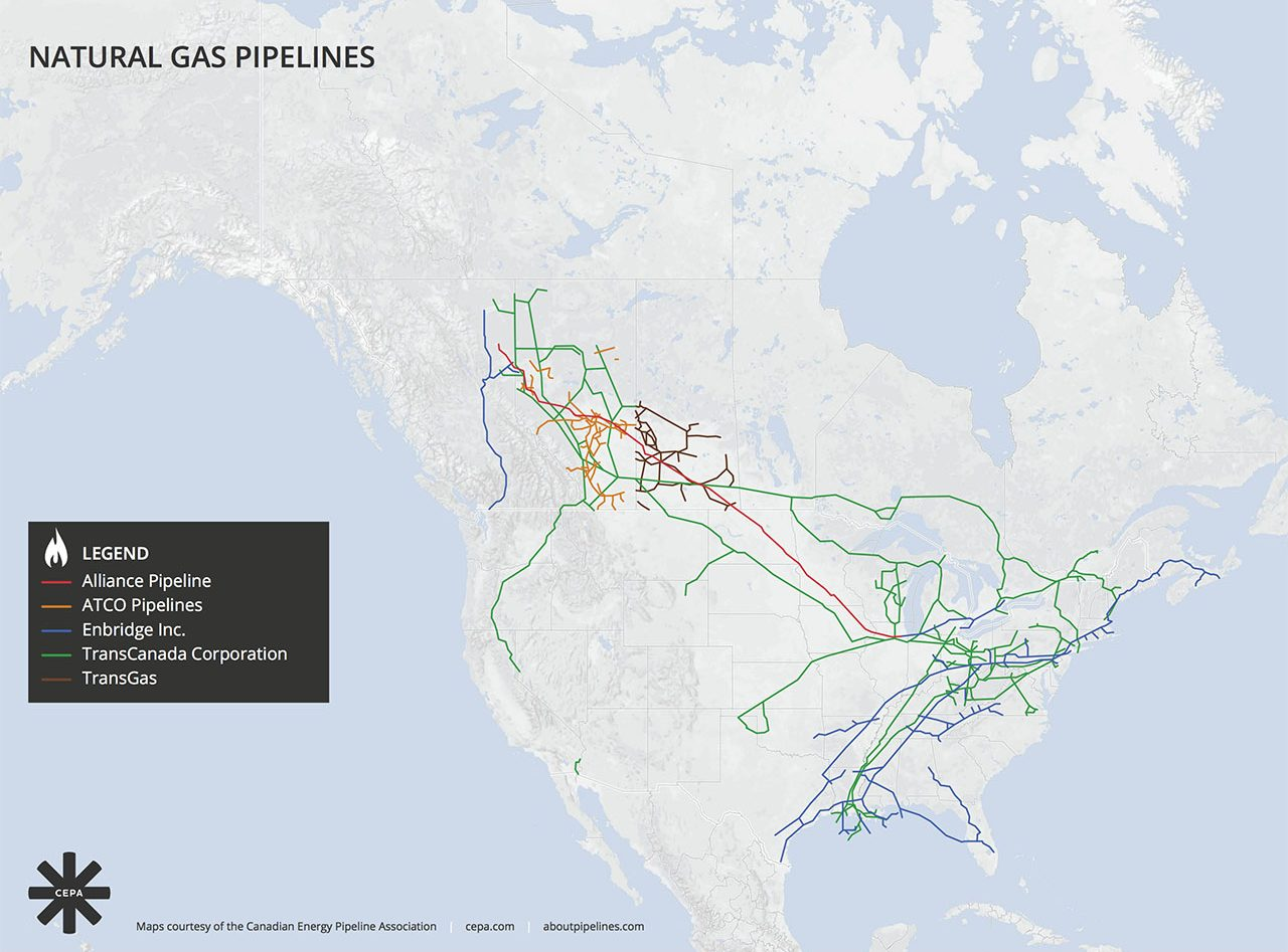 Pipelines In Canada: Everything You Need To Know   Claine on