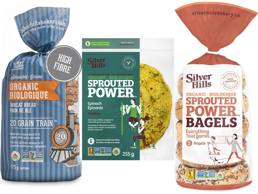 Silver Hills Bakery sprouted grain products