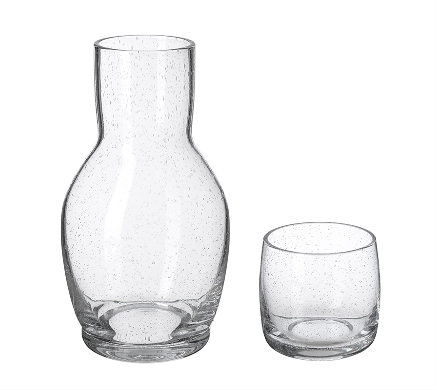 Ikea April Collection 2019: TÄNKVÄRD carafe with glass