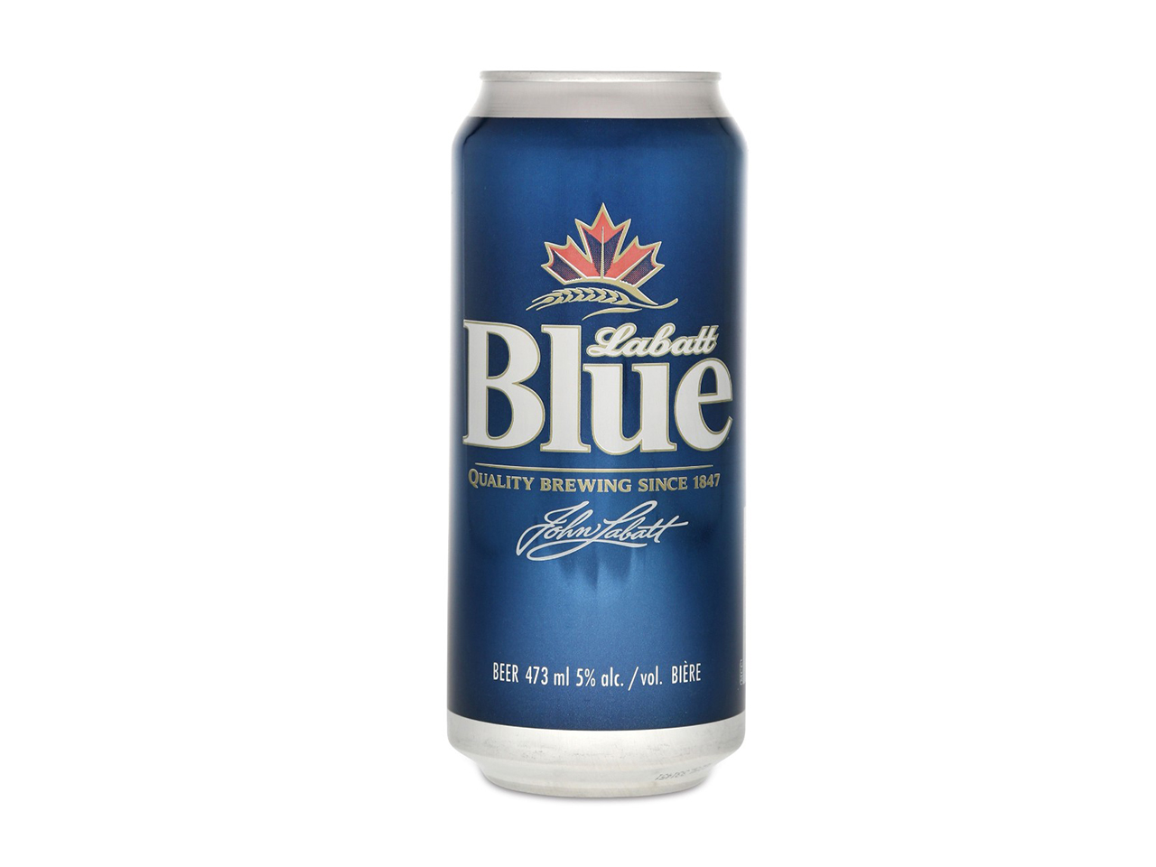 Labatt Blue can — LCBO no name beer review