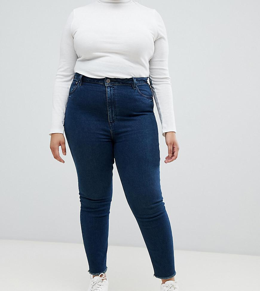 ASOS DESIGN Curve Farleigh high waist slim mom jeans