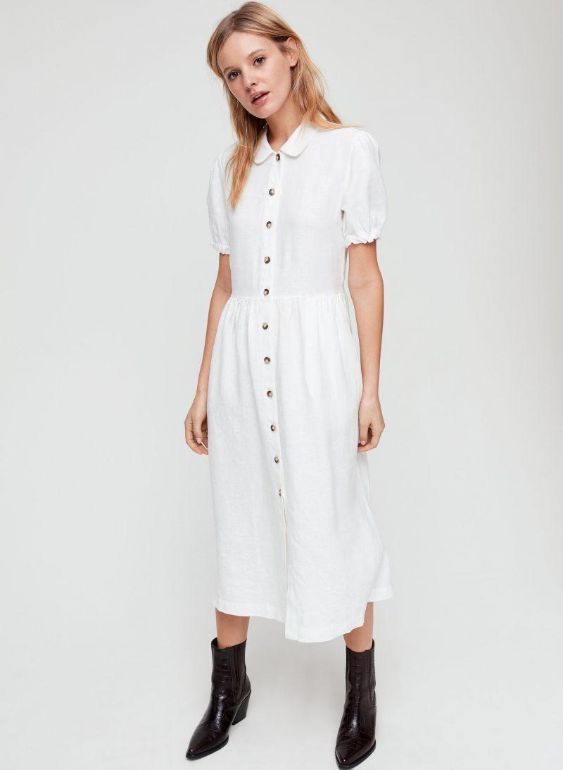 Aritzia Wilfred Naeva Shirt Dress