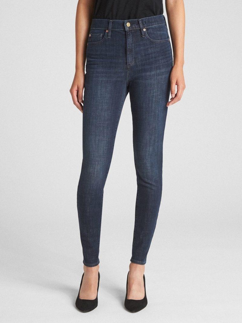 Gap High Rise True Skinny Jeans in 360 Stretch