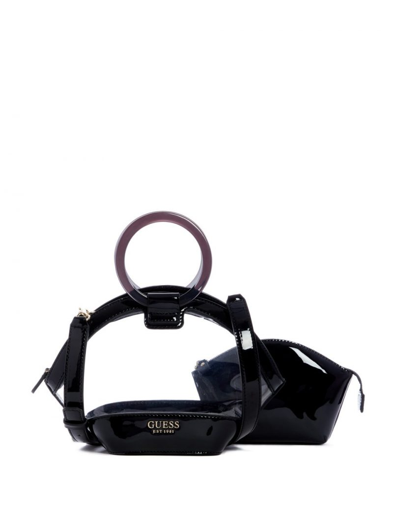 Guess Clear View Lucite Satchel Set, Clear Bag Trend