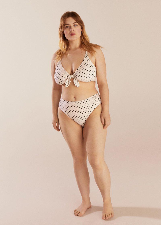 Violeta by Mango Polka Dot Bikini