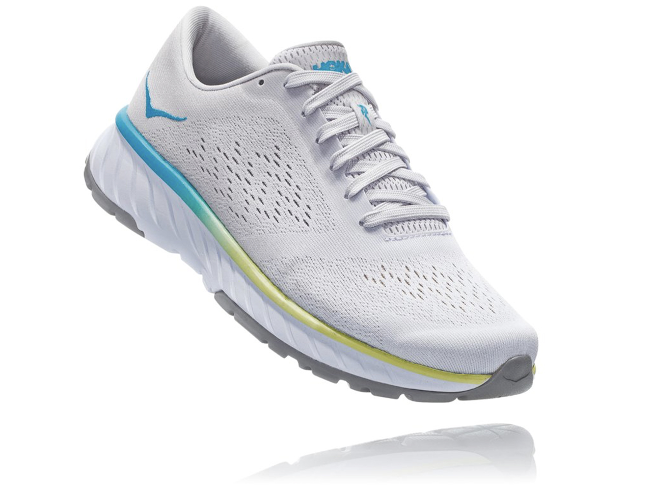 Great running shoes: Hoka's Cavu 2 shoe in white