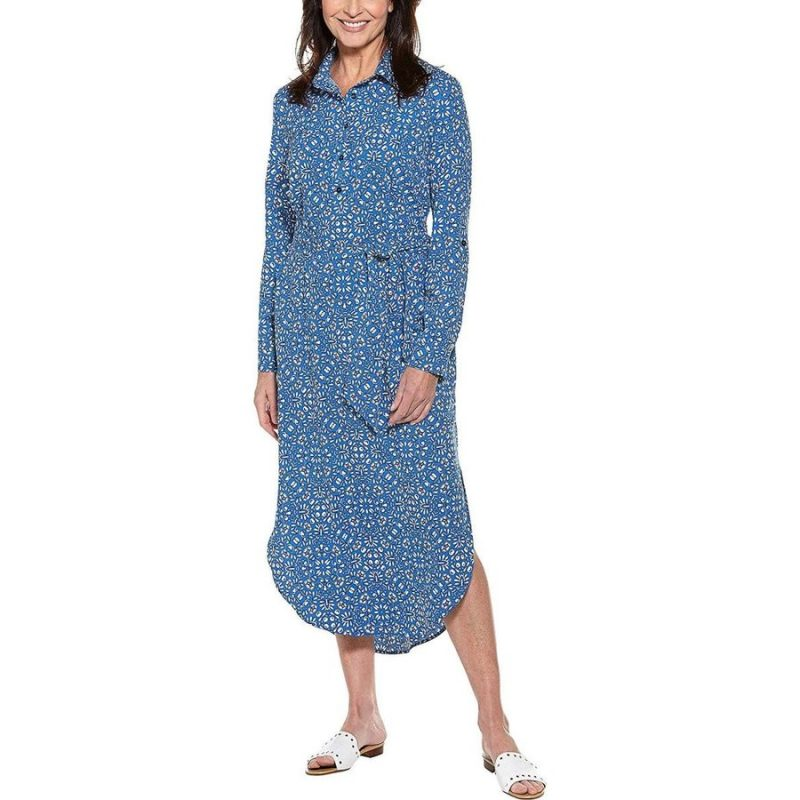 Coolibar Prado Shirt Dress UPF 50+