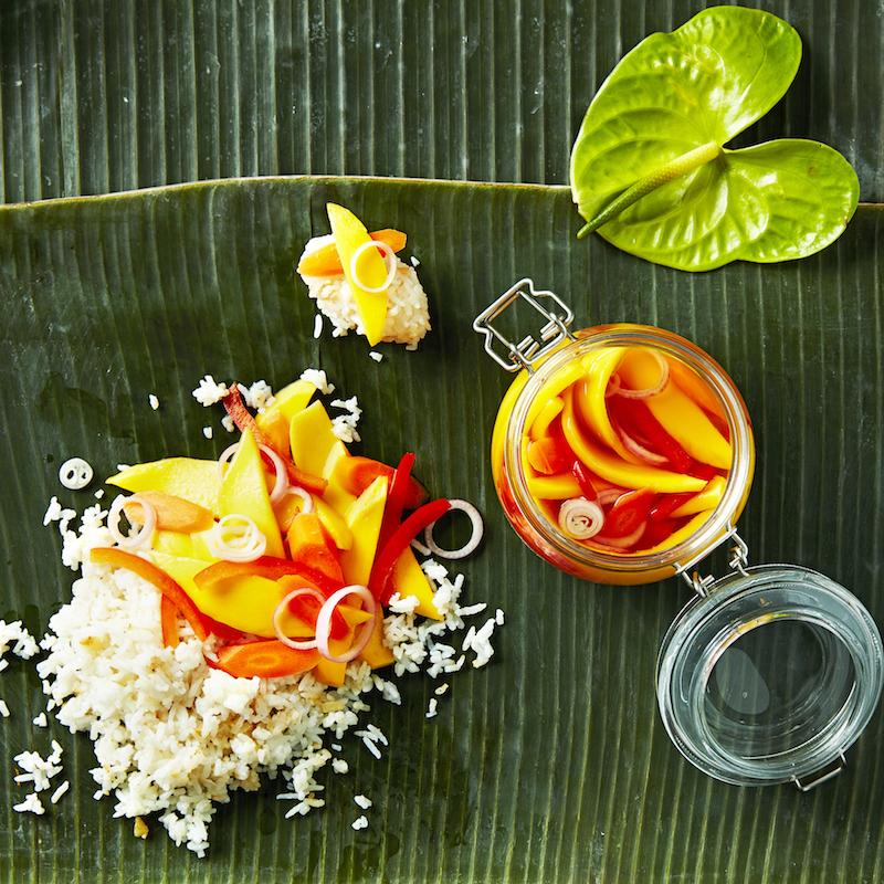 Mango Slaw (Atsarang Mangga)