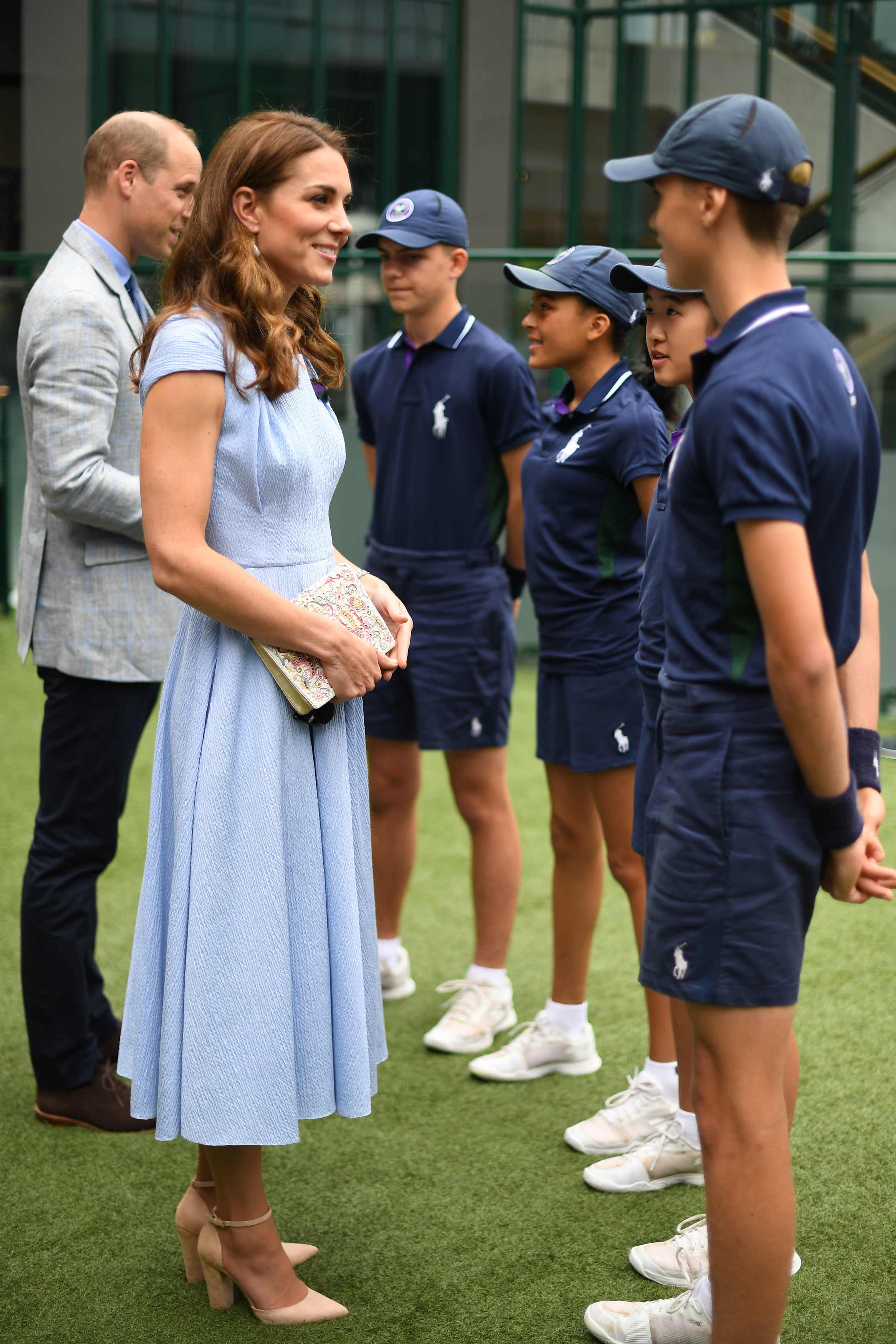 Duchess Kate Wore $85 Heels From A Canadian Company To Wimbledon
