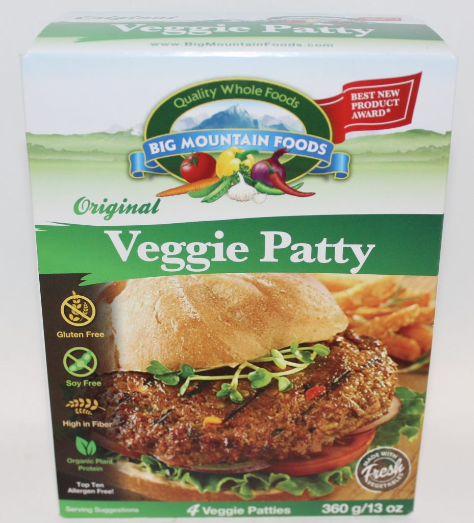 Big Mountain Foods Original Veggie Patty in its packaging