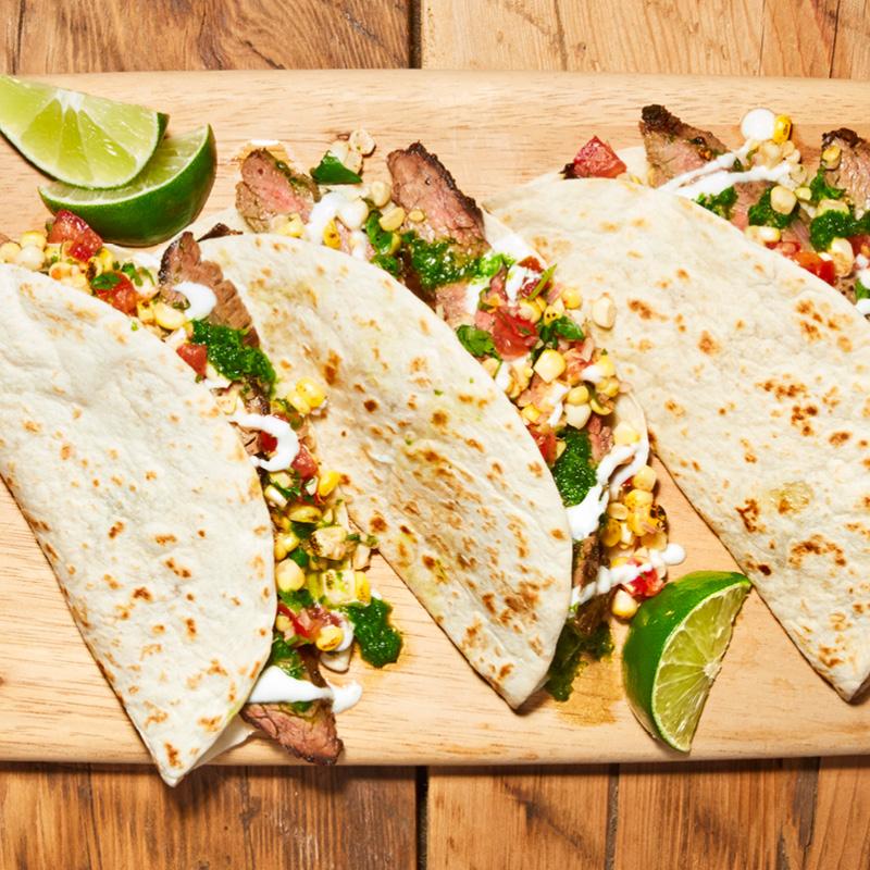 Chimichurri Steak Tacos